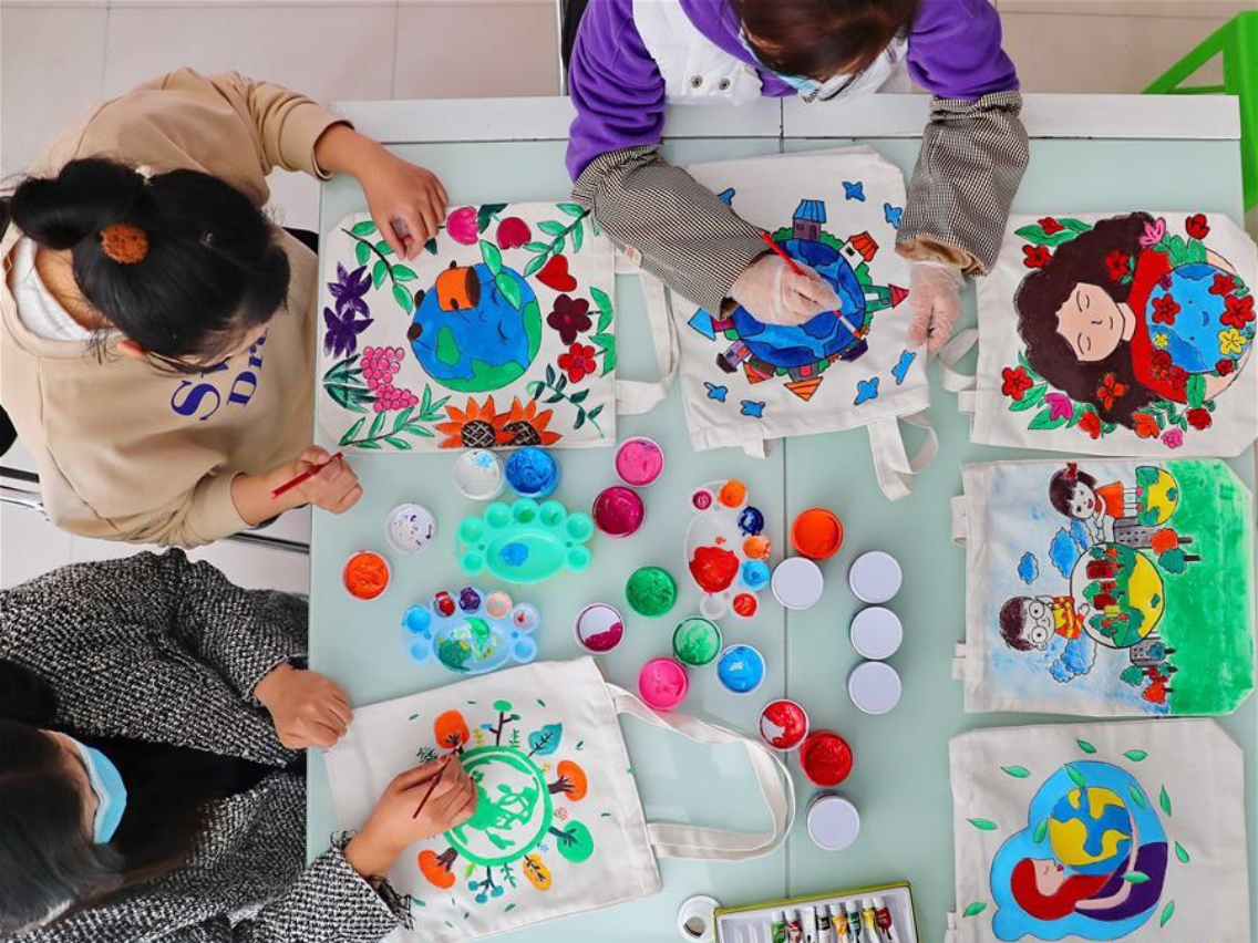 Earth Day themed activity held in China