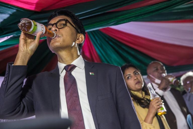 Madagascar president launches coronavirus 'remedy'