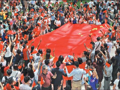 HKMAO backs police, slams foreign meddling