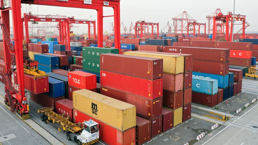 China-Russia trade up 3.4 pct in Q1