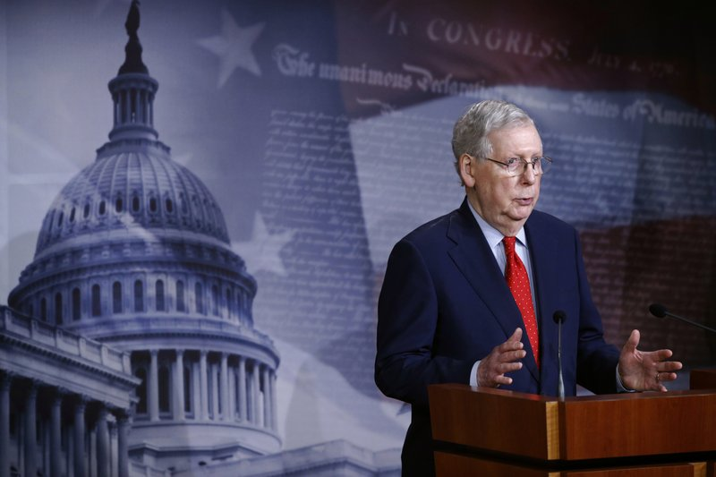 US Congress eyes new virus aid, but McConnell signals 'pause'