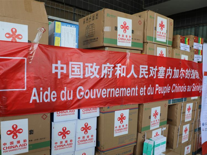 Senegal receives 2nd batch of medical aids from China