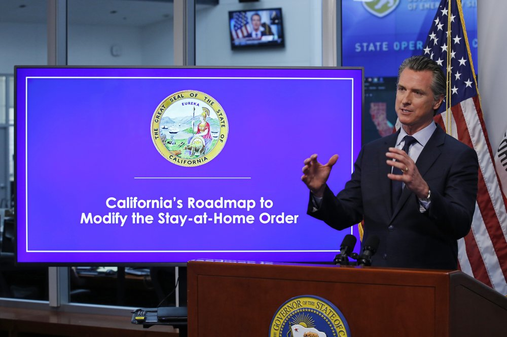 Newsom changes California stay-at-home order