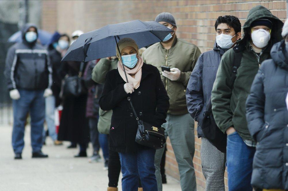 Virus pushes US unemployment toward highest since Depression