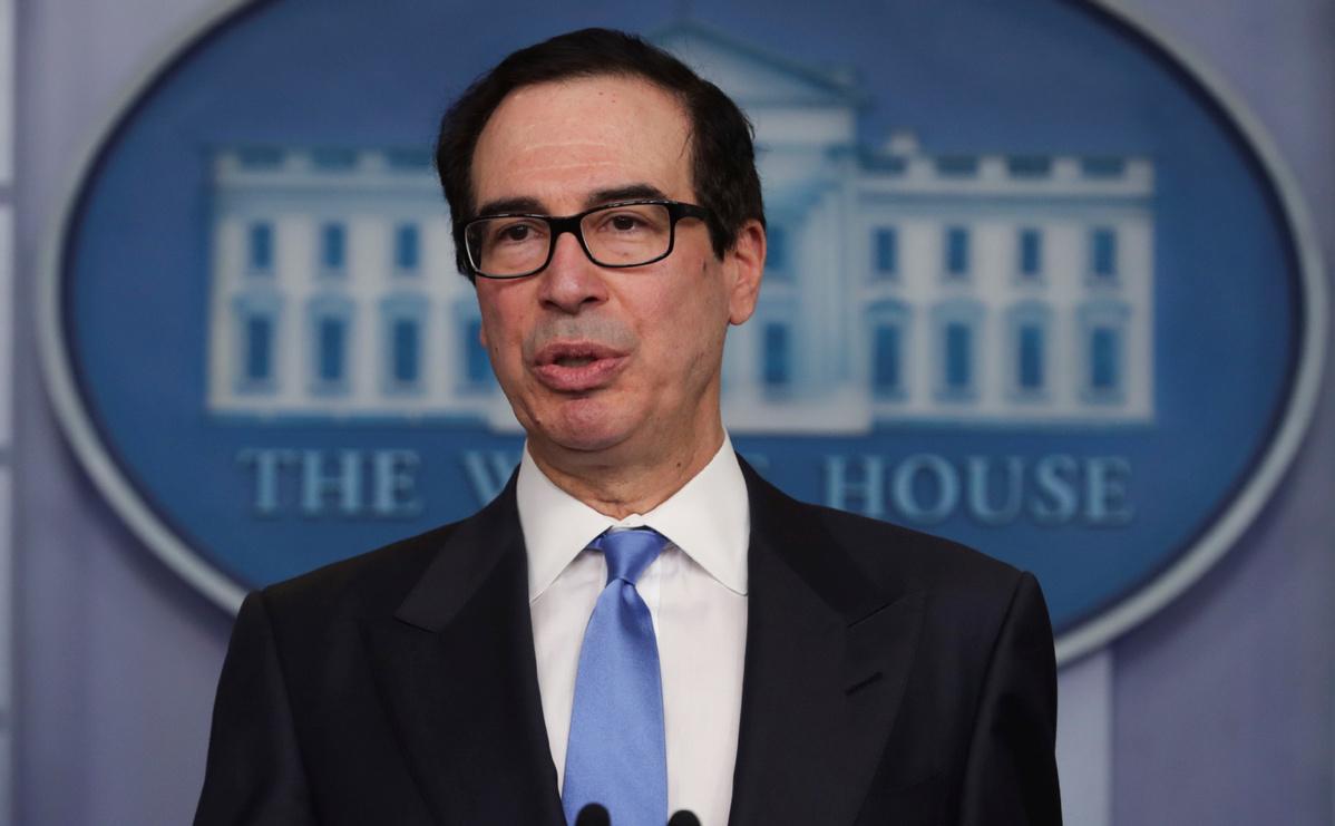 US treasury secretary says considering lending program for oil companies amid COVID-19