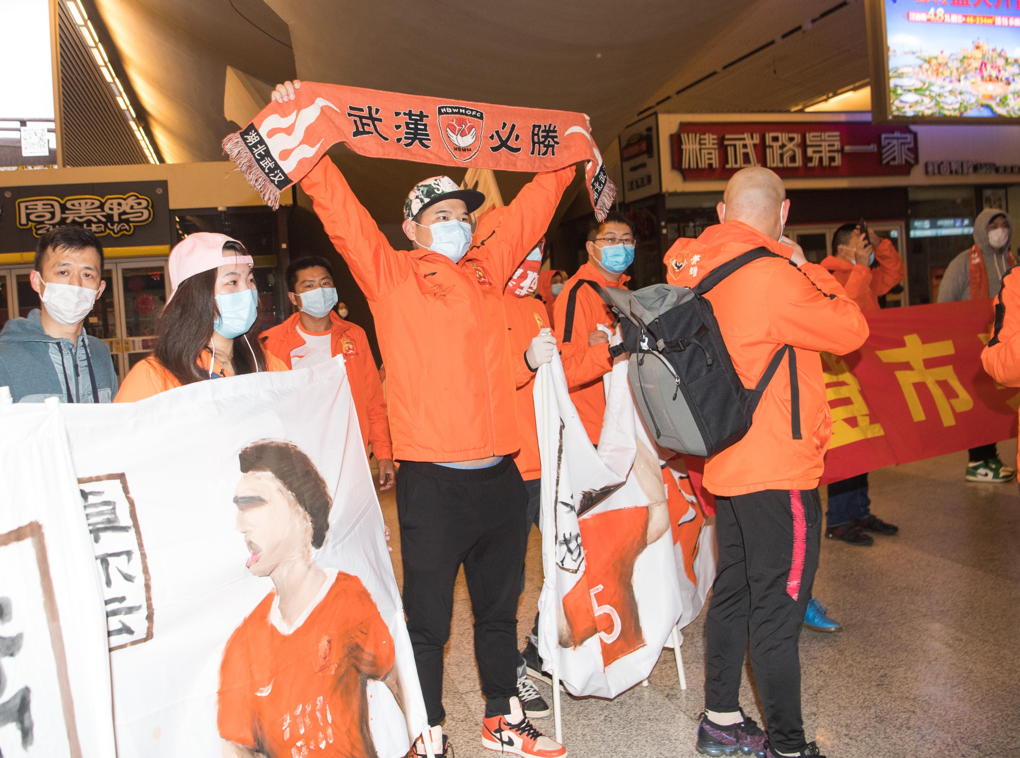 Wuhan Zall resumes training at home base amid virus restrictions