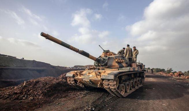 Turkey sends military gears into NE Syria