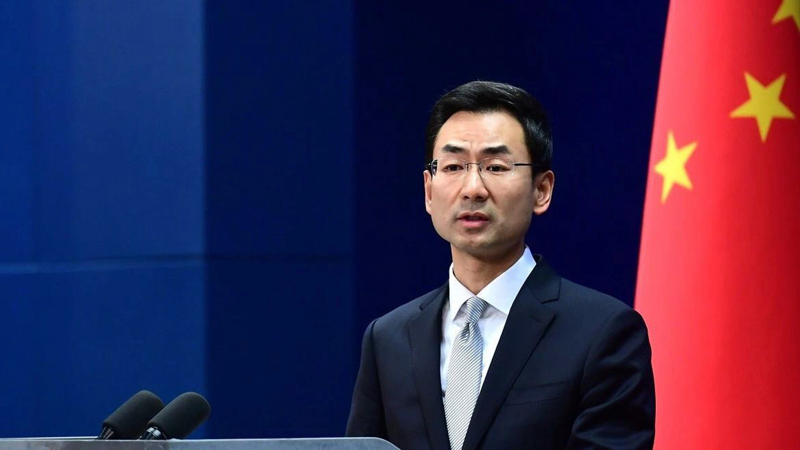 China criticizes Pompeo's 'possible' wording as groundless