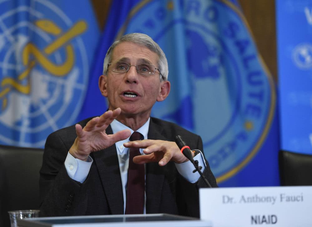 Dr. Fauci refutes conspiracy theory of lab-made coronavirus