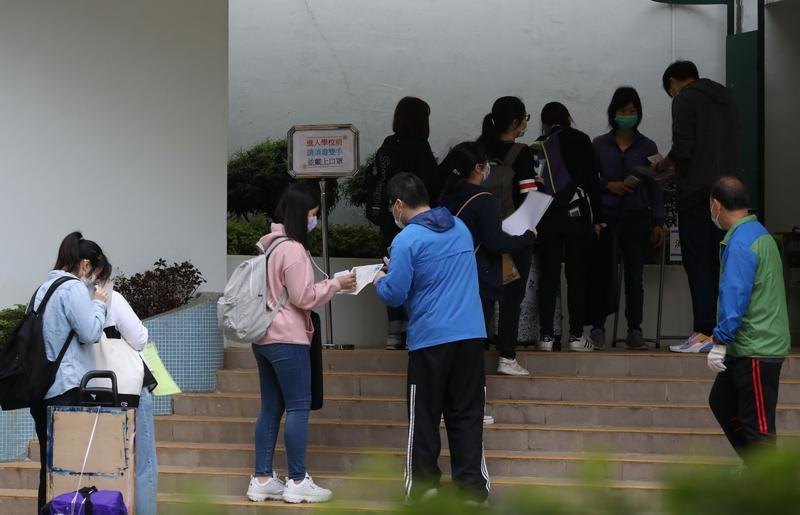HKDSE kicks off amid tight anti-infection measures