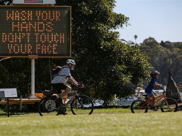 Cycling becomes new workout trend in Australia