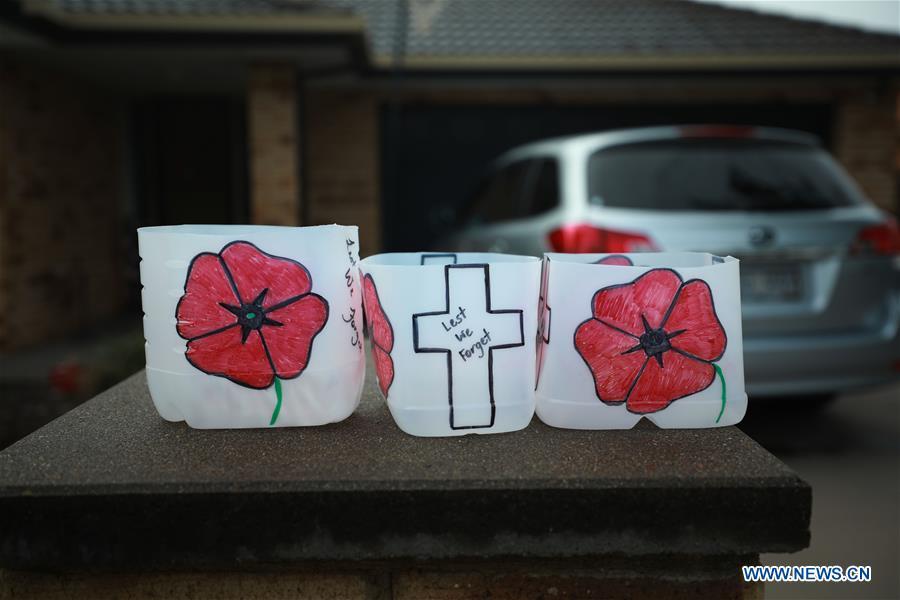 Anzac Day celebrated in Canberra, Australia
