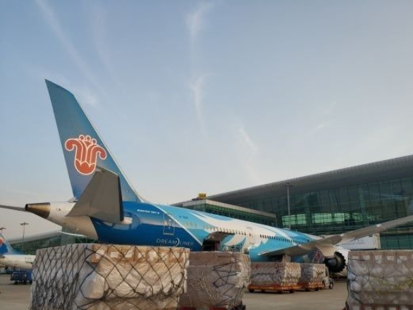 Hubei sends medical supplies to New York