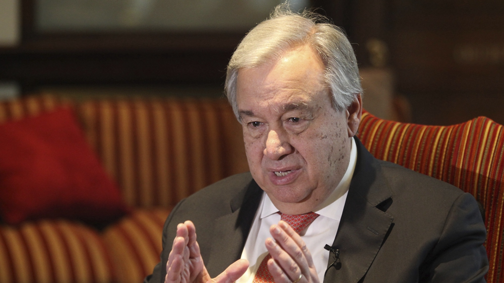 UN chief calls for affordable, universally accessible COVID-19 vaccine