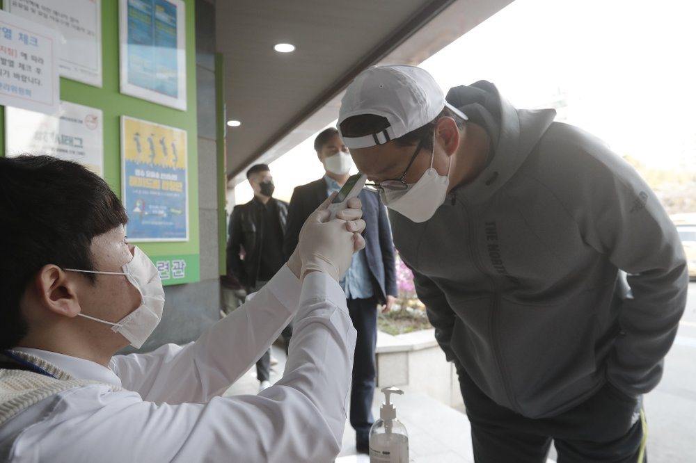 S.Korea reports 10 more COVID-19 cases, 10,728 in total