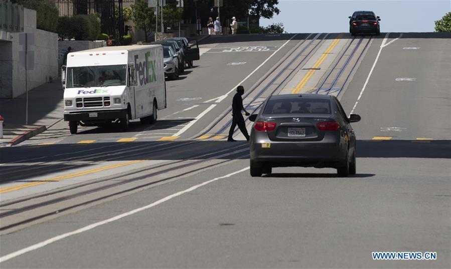 In pics: streets in San Francisco, U.S.