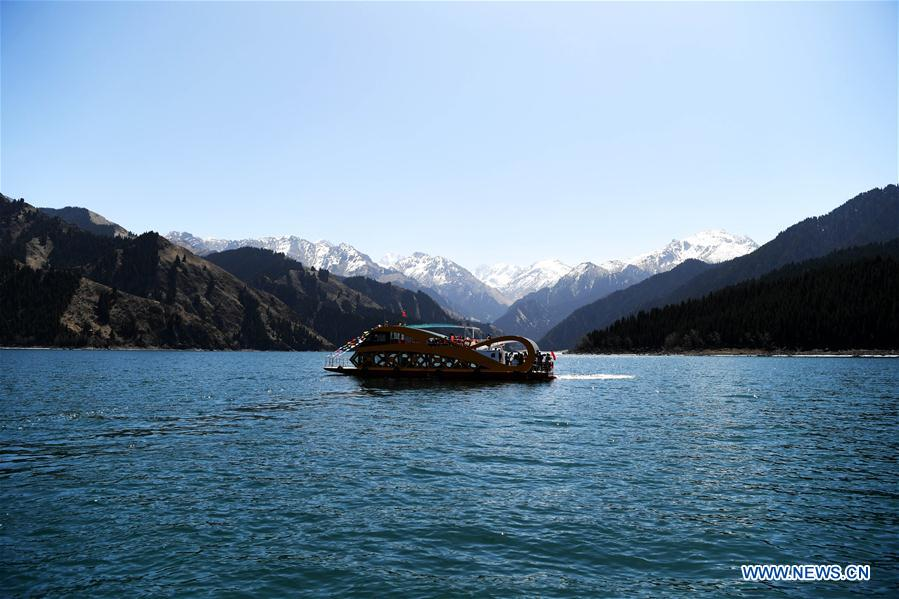 In pics: Tianchi lake in NW China