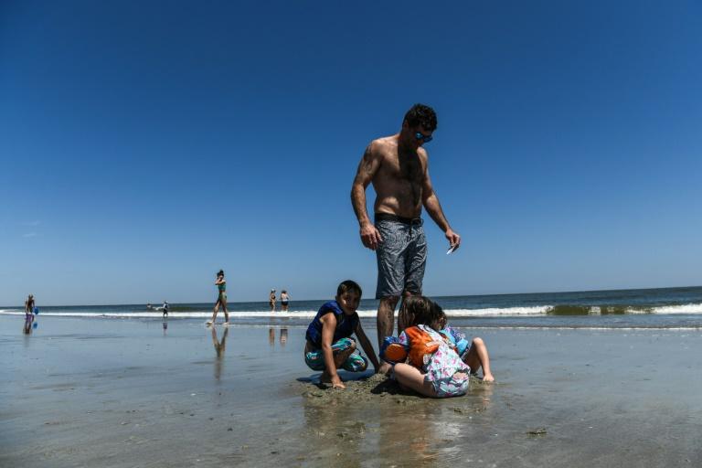 Self-isolation? Some in Georgia choose beach instead