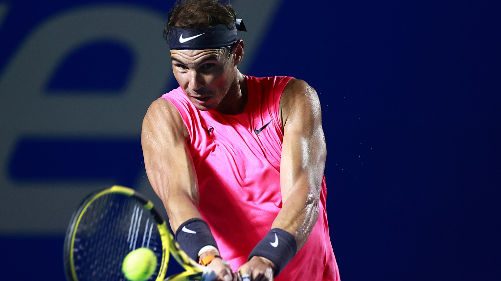 """Nadal: """"It's not wise to play competitions at the moment"""""""