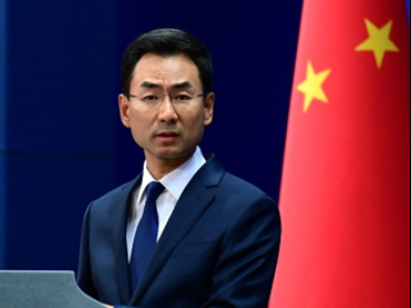 China firmly opposes embroiling China in US electoral politics