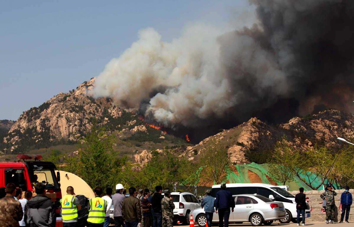 No casualties as Qingdao blaze put under control