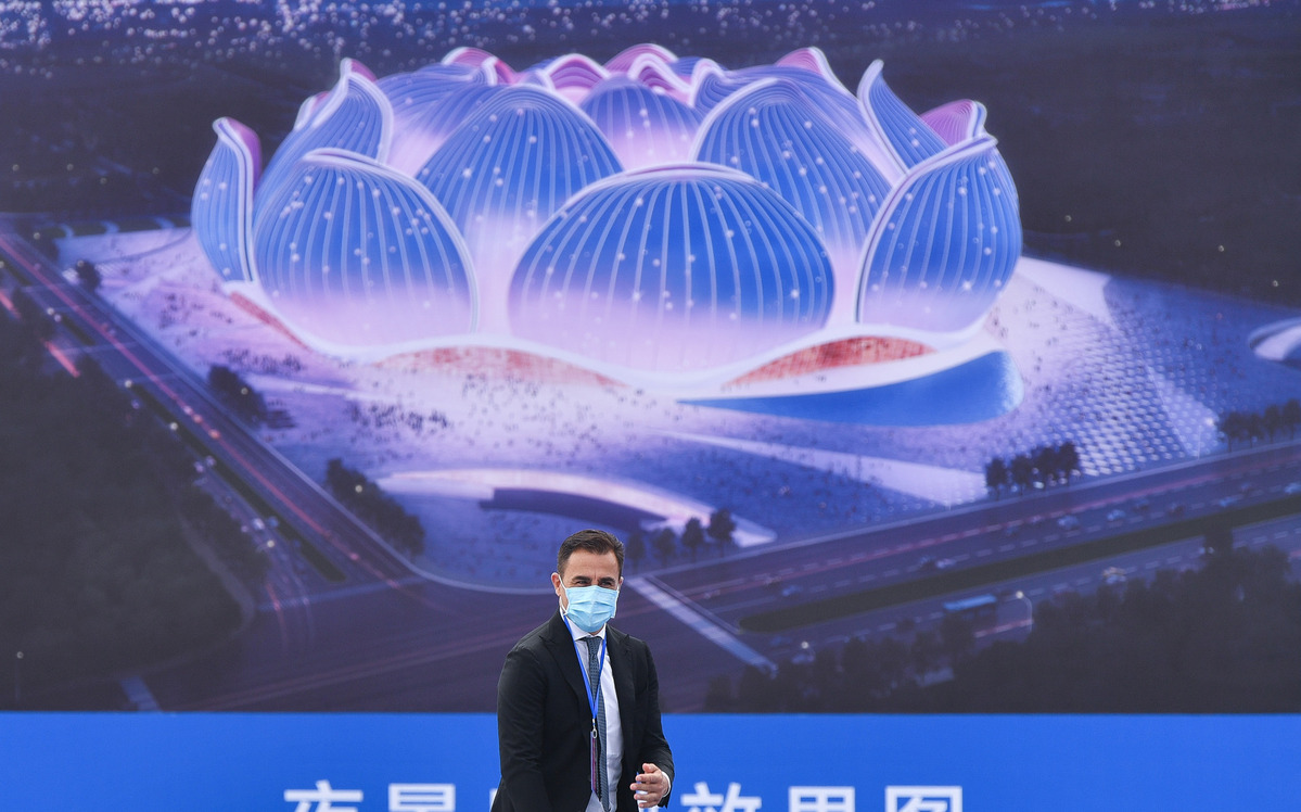 China building toward World Cup dream
