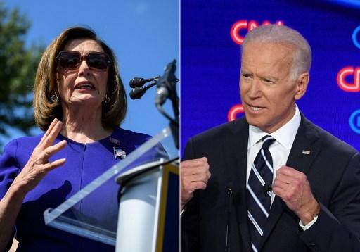 US House Speaker Pelosi endorses Democratic presidential candidate Biden