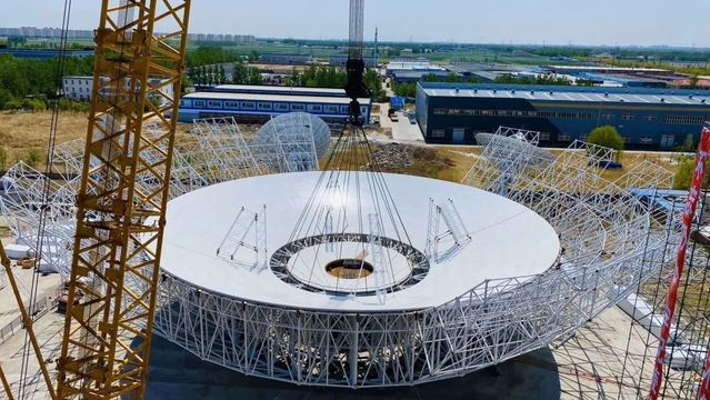 China builds Asia's largest steerable radio telescope for Mars mission