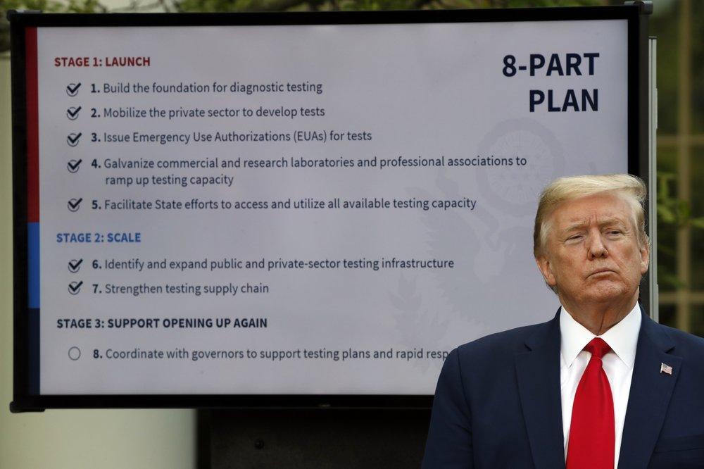 Trump says virus testing 'not a problem,' but doubts persist
