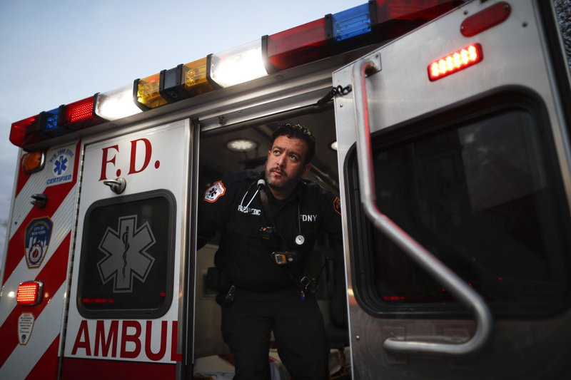 After COVID-19: Anxious, wary first responders back on job