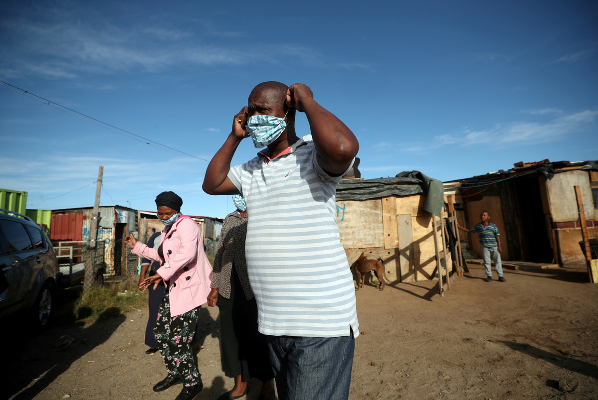 S. Africa sees continued surge in COVID-19 cases
