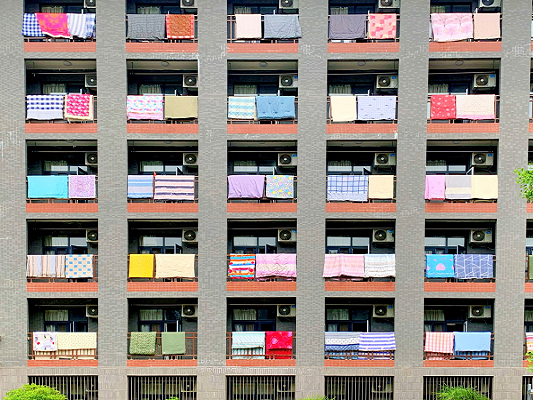 Xi'an university offers quilt-drying service to students