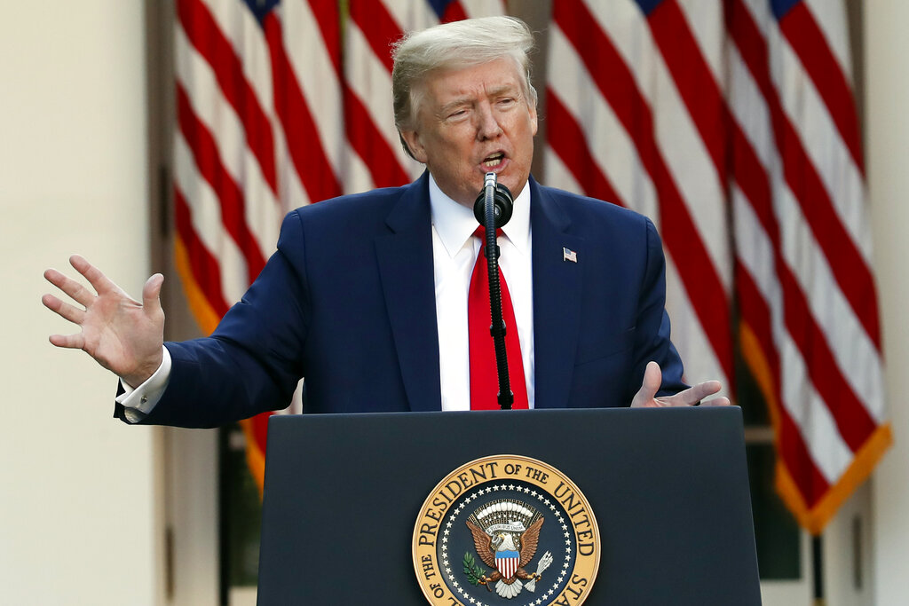 Trump urges US states to consider opening schools before summer