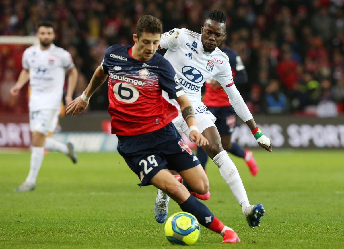 2019/2020 season French Ligue 1 abandoned amid COVID-19 pandemic