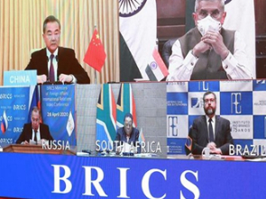 BRICS countries agree to boost cooperation on COVID-19 fight
