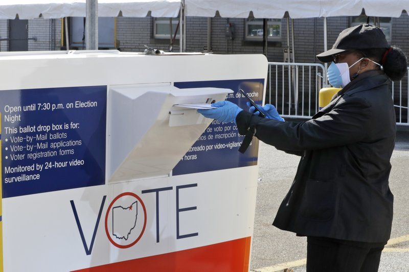 Ohio's mail-in primary tests voting during virus outbreak
