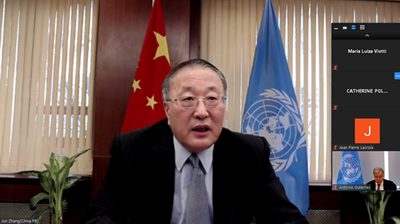 Multilateralism is key to fighting epidemic: Chinese representative to UN