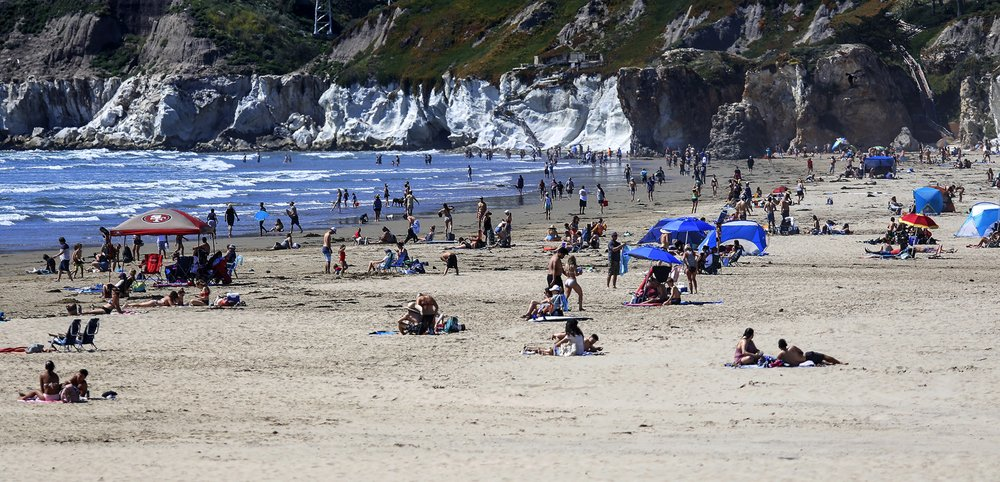Surf's down in California: Governor will close beaches
