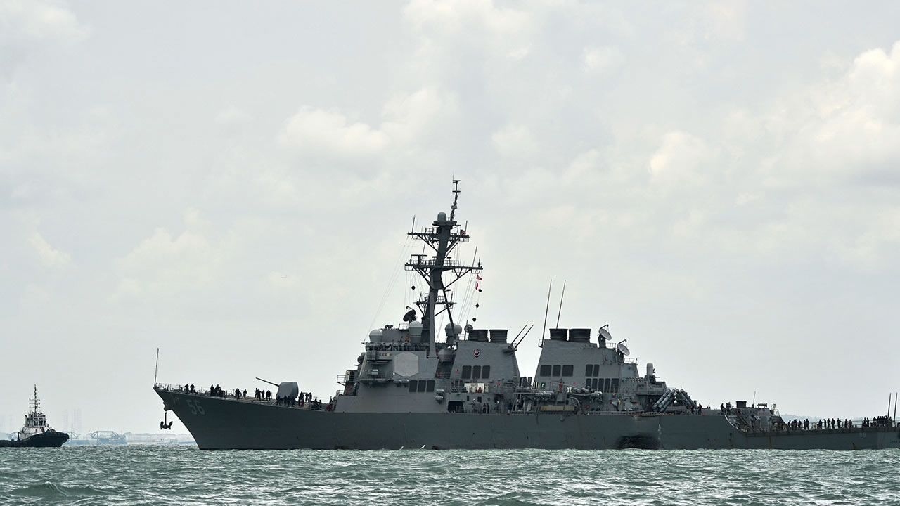 Nearly quarter of sailors test positive for COVID-19 aboard US Navy destroyer Kidd