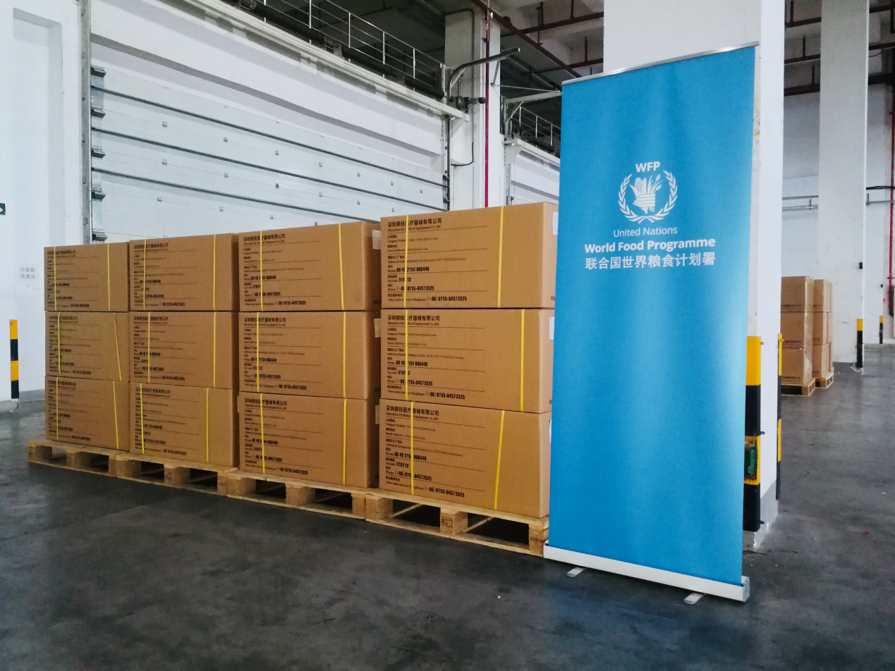 WFP launches global humanitarian hub in China to support efforts against COVID-19