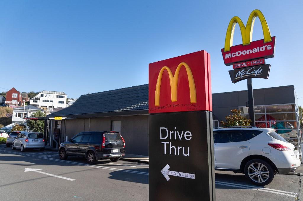 McDonald's Q1 profits fall after March sales plunge