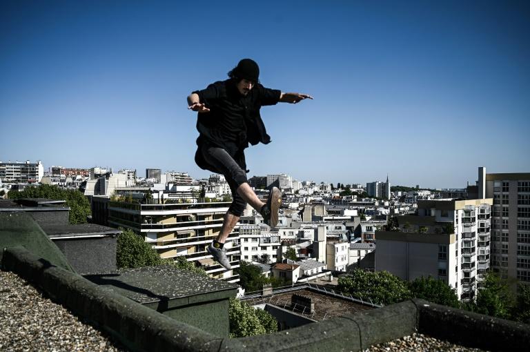 Running free across Paris in lockdown