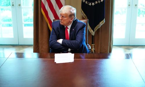Trump should be political Batman for US in crisis