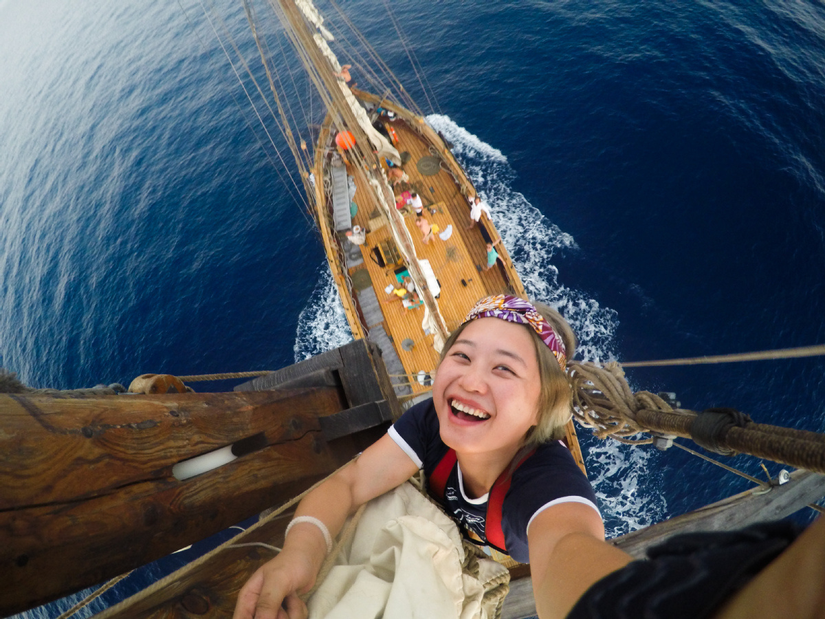 Sailing a wave of destiny on a sea of adventure