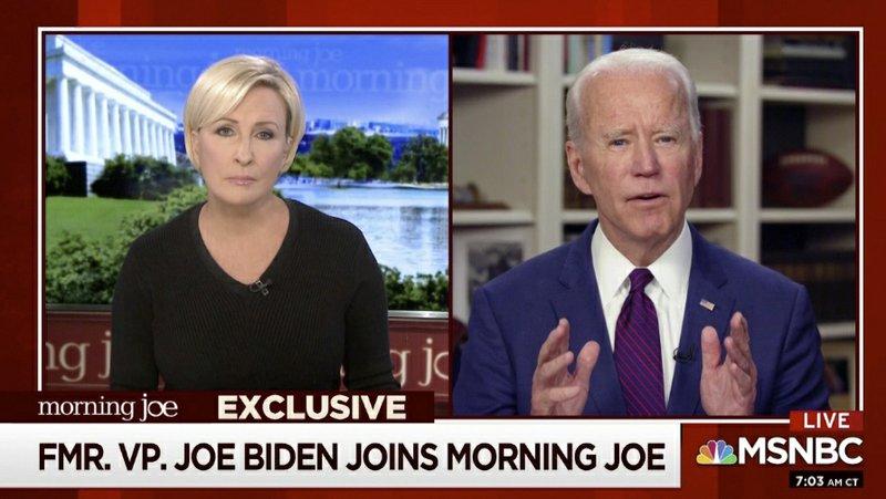 Biden on sexual assault allegation: 'never, never happened'