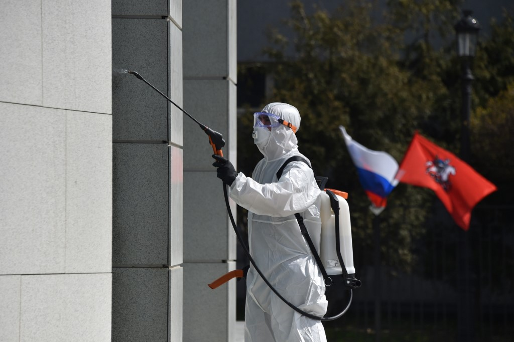 Russia tallies record 9,623 new COVID-19 cases in last 24 hrs