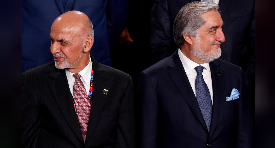 Afghan rivals say they're close to ending leadership feud
