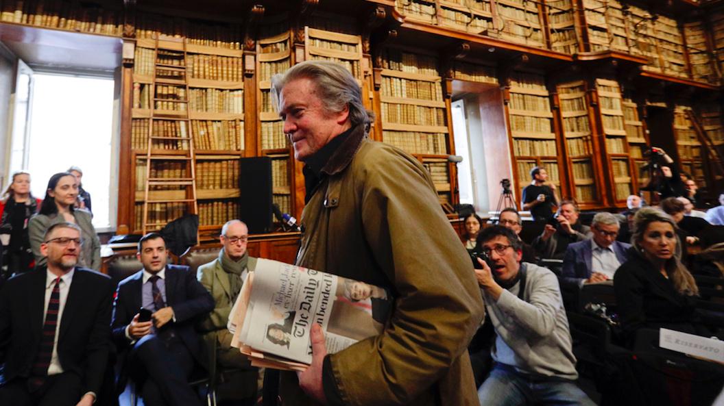 Steve Bannon: A modern day demagogue