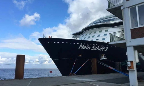 Chinese nationals aboard quarantined German cruise ship in good health: Consulate-General