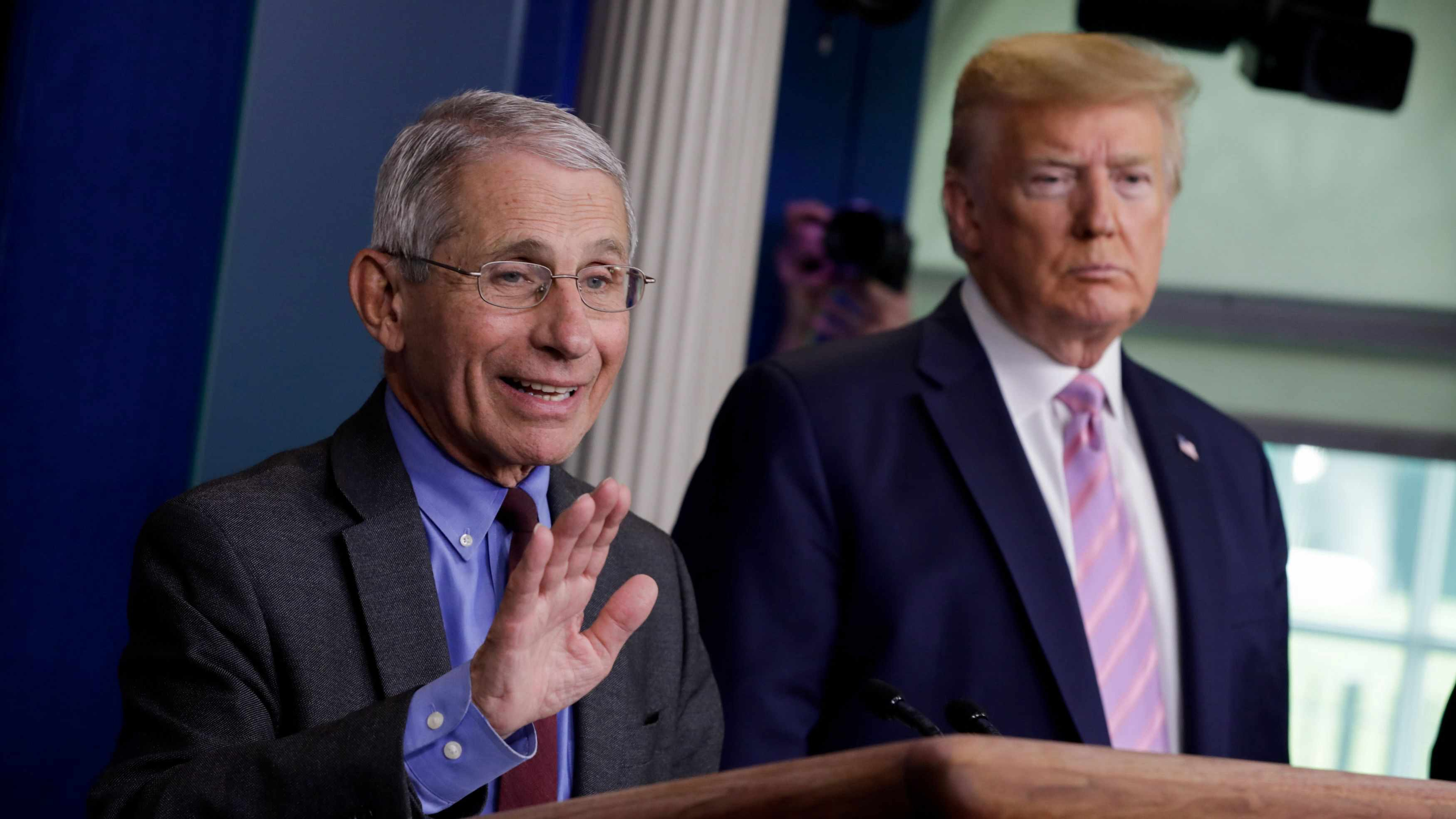 Is blocking Fauci an attempt to silence dissidents?
